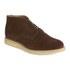 YMC Men's Crepe Sole Zip Front Suede Chukka Boots - Brown: Image 5