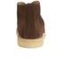 YMC Men's Crepe Sole Zip Front Suede Chukka Boots - Brown: Image 3