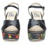 Love Moschino Women's Printed Platform Sandals - Black Multi: Image 4