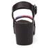 Love Moschino Women's Cleated Platform Sandals - Black: Image 3