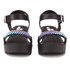Love Moschino Women's Cleated Platform Sandals - Black: Image 4
