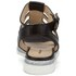 Markus Lupfer Women's Nappa Silver Balls Sandals - Black: Image 3
