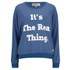 Wildfox Women's Oversized The Real Thing Sweatshirt - Howl: Image 1