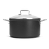 Le Creuset Toughened Non-Stick Deep Casserole Dish with Glass Lid - 24cm: Image 4