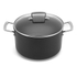 Le Creuset Toughened Non-Stick Deep Casserole Dish with Glass Lid - 24cm: Image 1