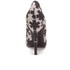 Vivienne Westwood Anglomania Women's Maggie II Asterisk Printed Court Shoes - Black/White: Image 3