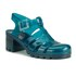 JuJu Women's Babe Heeled Jelly Sandals - Turmaline: Image 5