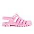 JuJu Women's Maxi Jelly Sandals - Flamingo: Image 1