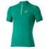 Asics Men's 1/2 Zip Running T-Shirt - Jungle Green: Image 1