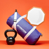 Torba Myprotein Barrel Bag - Purpurowa: Image 6