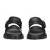Dr. Martens Men's Shore Brelade Buckle Leather Slide Sandals - Black Brando: Image 4