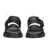 Dr. Martens Men's Shore Brelade Buckle Leather Slide Sandals - Black Brando: Image 4