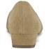 Ravel Women's Anaconda Suede Pointed Flat Shoes - Tan: Image 3