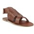 Ravel Women's Missouri Weave Flat Sandals - Tan: Image 5