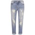VILA Women's Crime 7/8 Boyfriend Jeans - Light Blue: Image 1