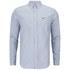 Lacoste Men's Long Sleeve Oxford Shirt - Boreal Blue: Image 1