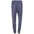 Six Ames Women's Dulga Printed Trousers - Navy: Image 2