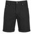 Cheap Monday Men's 'High Cut' Denim Shorts with Fold-Up - Black: Image 1