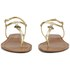 Lauren Ralph Lauren Women's Aimon Leather Sandals - Rl Gold: Image 4