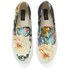 Polo Ralph Lauren Men's Mytton NE Floral Slip On Trainers - Black Multi: Image 2