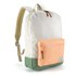 Herschel Supply Co. Women's Settlement Mid Volume Backpack - Natural/Mango/Crosshatch/Foliage/Mango Rubber: Image 2