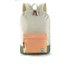 Herschel Supply Co. Women's Settlement Mid Volume Backpack - Natural/Mango/Crosshatch/Foliage/Mango Rubber: Image 1