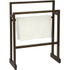 Wireworks Dark Oak Towel Rail: Image 1