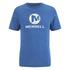 Merrell Men's Vintage Stacked Logo T-Shirt - Tahoe Heather Blue: Image 1