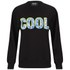 Markus Lupfer Women's Cool Shell Embroidery Belinda Sweatshirt - Black: Image 1