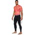 Under Armour Men's Armour HeatGear Compression Training Leggings - Black/Steel: Image 3