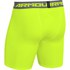 Under Armour Men's Armour Heat Gear Compression Training Shorts - Yellow/Graphite: Image 2