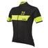 Nalini Pink Label Women's Nemina Short Sleeve Jersey - Black/Yellow: Image 1