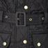 Barbour International Women's Quilted Jacket - Black: Image 9
