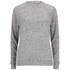 T by Alexander Wang Women's Nep French Terry Crew Sweatshirt - Heather Grey: Image 1