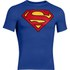 T-Shirt Under Armour® Alter Ego -Superman Bleu: Image 1