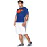 Under Armour Men's Transform Yourself Compression Top - Blue/Yellow/Red: Image 5