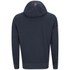 Crosshatch Men's Squirm Neon Print Hoody - Navy Marl: Image 2