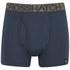 Crosshatch Men's Squint 2-Pack Boxer Shorts - Apricot/Blue Wing: Image 4