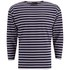 Armor Lux Men's Beg Meil 3/4 Sleeve T-Shirt - Navy/White: Image 1