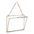 Nkuku Kiko Glass Frame - Antique Brass - Landscape 8