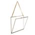 Nkuku Extra Large Kiko Antique Brass Glass Frame - Landscape 29x36cm: Image 4
