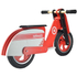 Kiddimoto Scooter - Red/White: Image 3