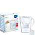 BRITA Marella Water Filter Jug with 3 Cartridges - White (2.4L): Image 1