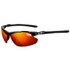Tifosi Tyrant 2.0 Sunglasses - Gloss Black/Clarion Red: Image 1