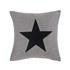 Big Star Cushion - Grey: Image 1