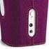 Sonoro Cubo Go New York Portable Bluetooth Speaker - White/Purple Felt: Image 2