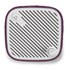 Sonoro Cubo Go New York Portable Bluetooth Speaker - White/Purple Felt: Image 3