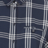ONLY Women's Suki 3/4 Sleeve Check Shirt - Cloud Dancer Blue: Image 3