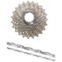 Shimano Ultegra CS-6700 Bicycle Chain and Cassette - 10 Speed Grey 11-25T: Image 1