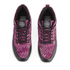 Gourmet Men's 35 TX Trainers - Raspberry/Black Leather: Image 2